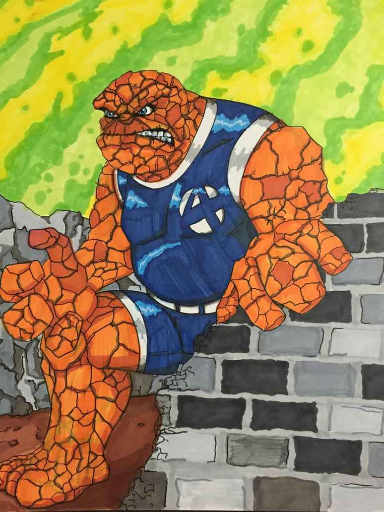 The Thing, Ben Grimm by MattyMo
