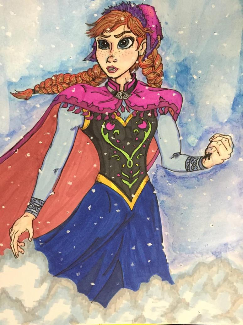 Anna from Frozen by MattyMo