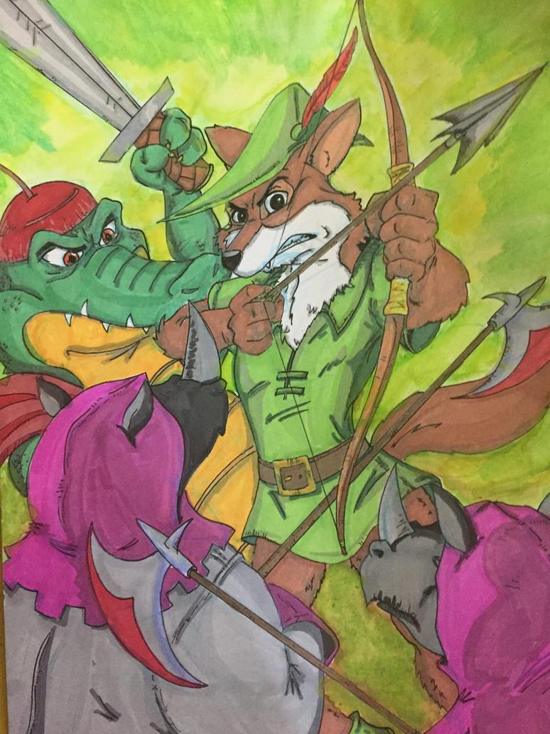 Disney's Robin Hood by MattyMo