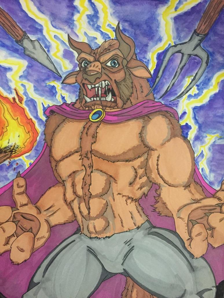 Beast Rages by MattyMo