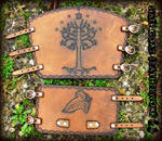 Lord of the Rings Bracer and Cuff