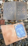 Celtic Kindle Cover Inside and out