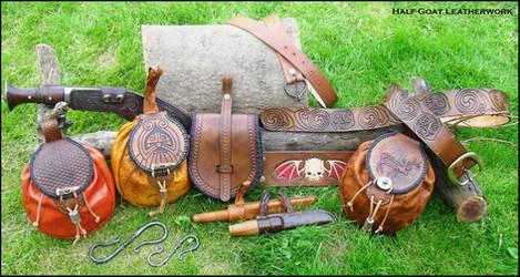 Half-Goat Leatherwork by Half-Goat