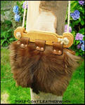 Viking Hedeby Bag Goatskin