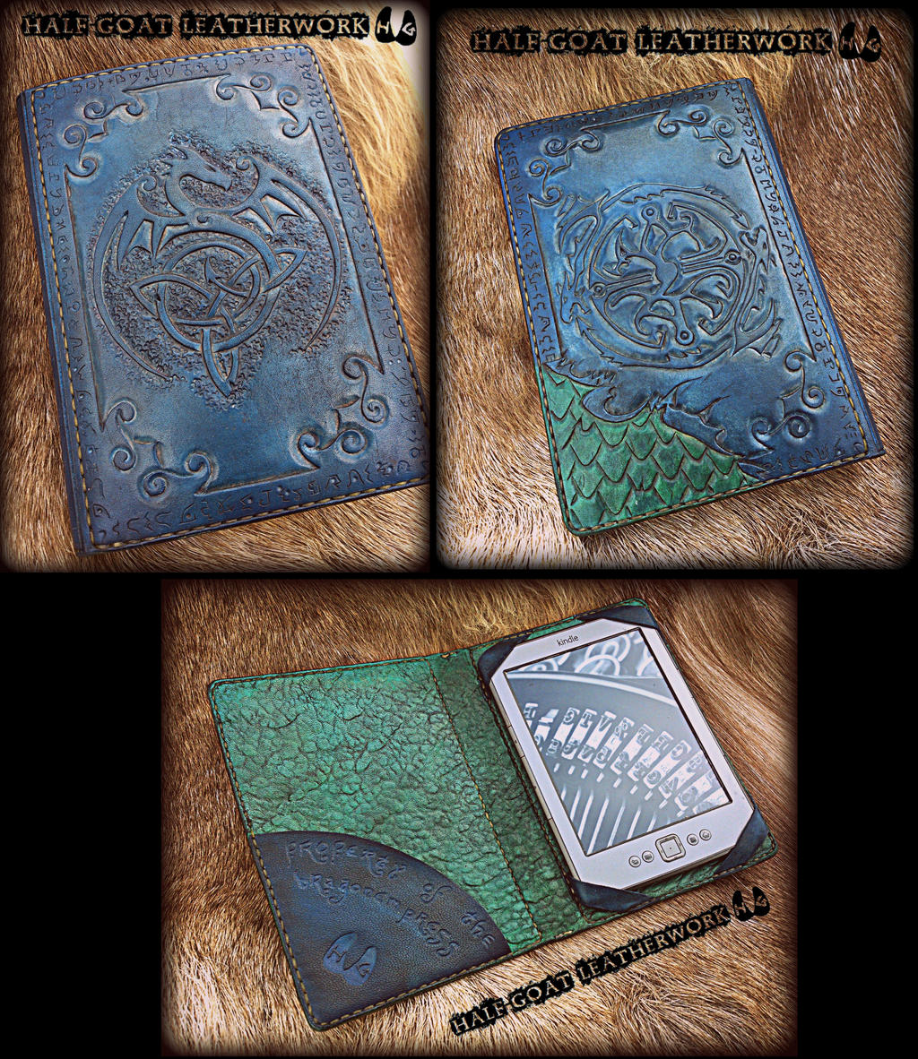 Kindle Book Cover Art ~ Dragon kindle cover by half goat on deviantart