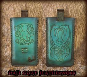 Pictish Mermaid Phone Case by Half-Goat