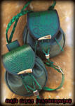 Celtic Sporran and Bag set by Half-Goat