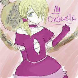 My Cinderella with colors by Hawamura