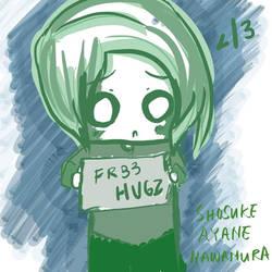 Fr33 Hugz? by Hawamura
