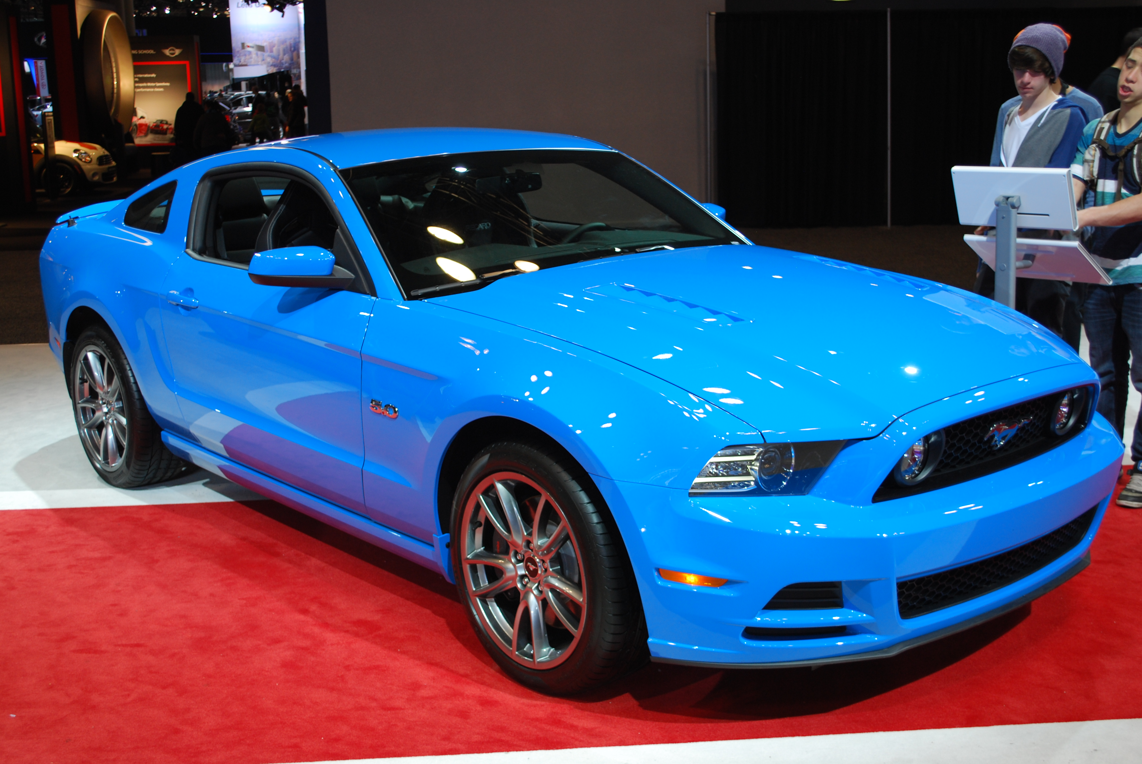 2014 FORD Mustang GT Premium Coupe (II) by HardRocker78
