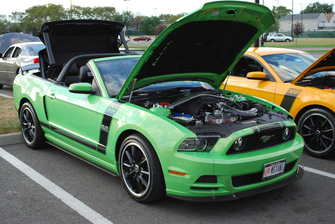 2013 ford mustang boss 302 convertible ii by hardrocker78 on deviantart. Black Bedroom Furniture Sets. Home Design Ideas