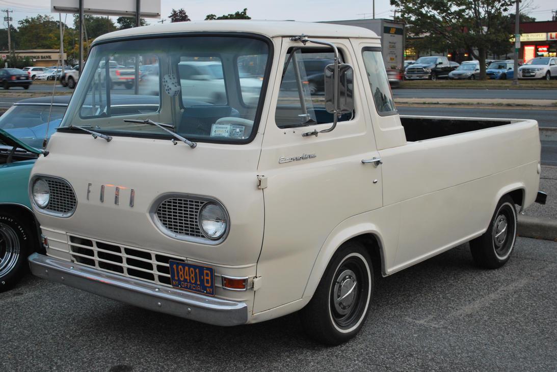 1967 Ford Econoline Pickup Ii By Hardrocker78 On Deviantart 1961 Truck