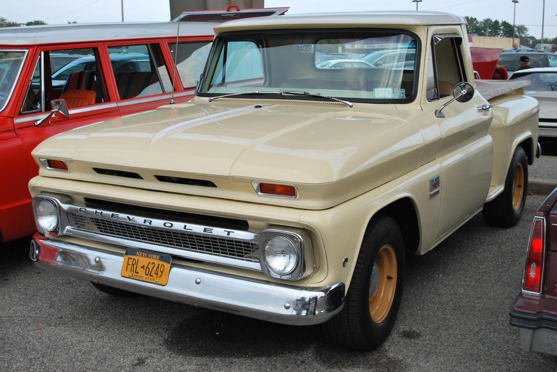 1966 Chevrolet C10 Stepside I By Hardrocker78 On Deviantart Chevy Truck