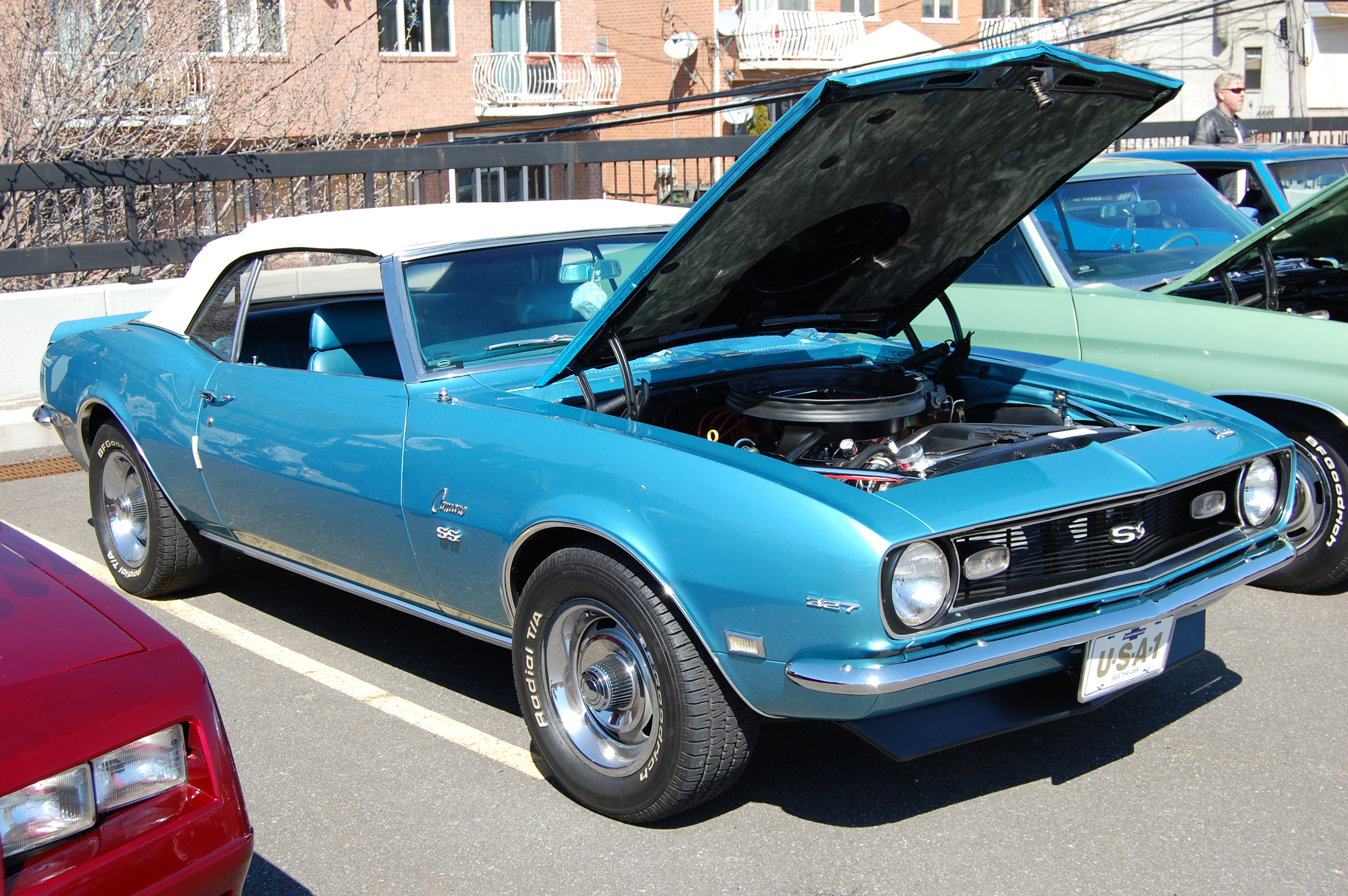 1968 chevrolet camaro ss convertible ii by hardrocker78 on