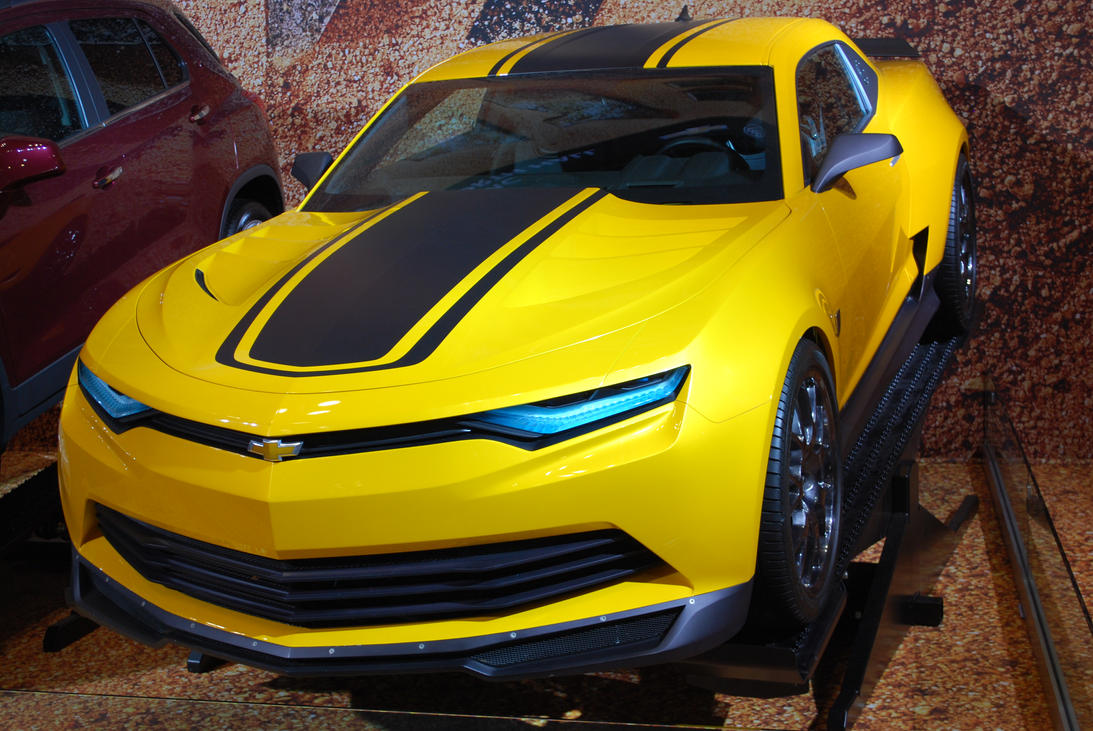 Yellow Bumblebee Camaro Transformers Age Of Extinction ...
