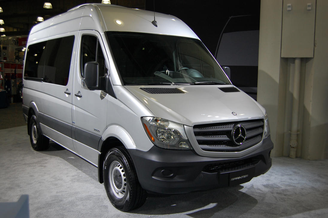 Mercedes benz sprinter 2500 passenger van i by for Mercedes benz 7 passenger