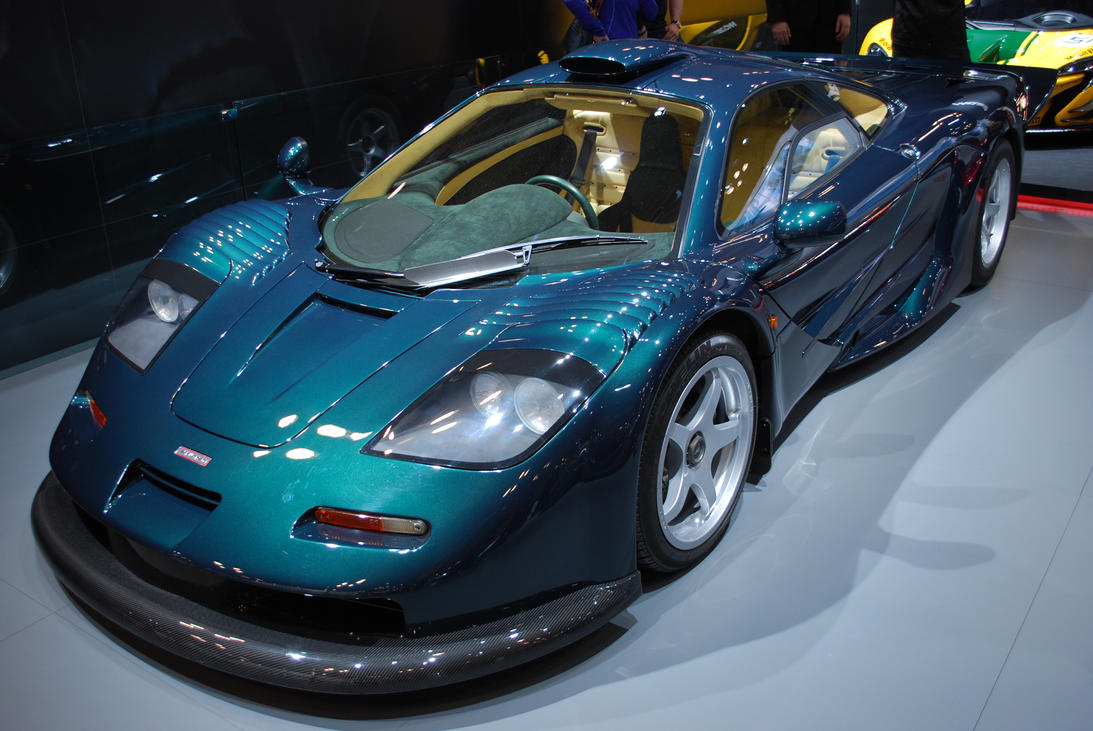 1997 McLAREN F1 GT (I) by HardRocker78 on DeviantArt
