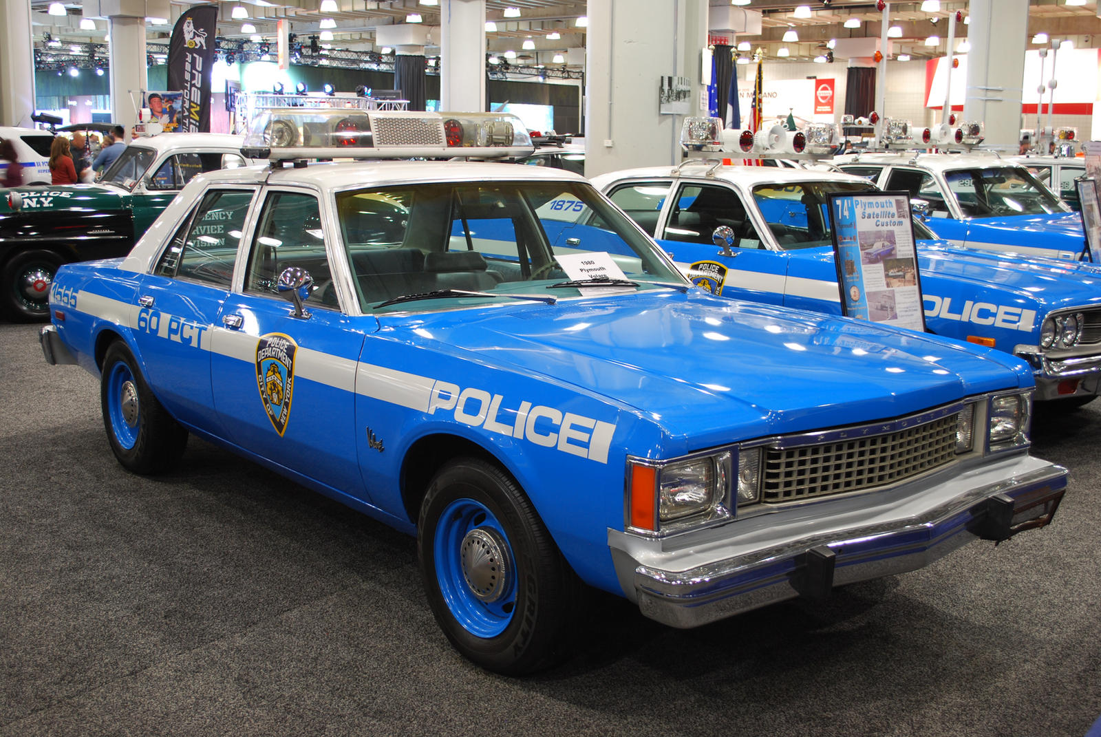 1980 Plymouth Volare Nypd Police Car Ii By Hardrocker78