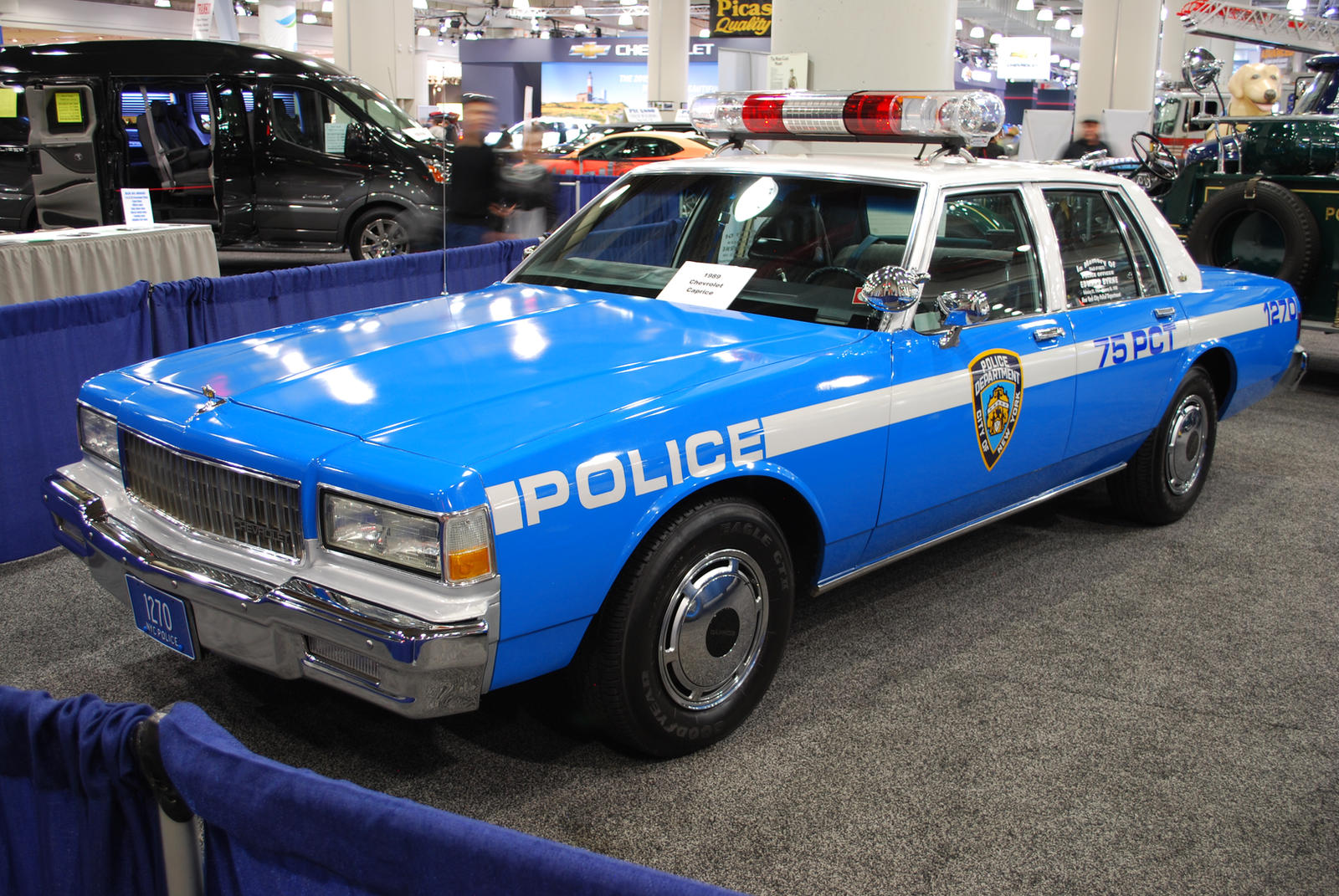 1989 CHEVROLET Caprice NYPD Police Car (II) by HardRocker78 on ...
