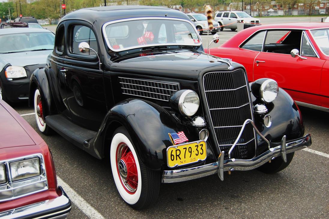 1935 ford 2 door coupe ii by hardrocker78 on deviantart for 1935 ford 4 door