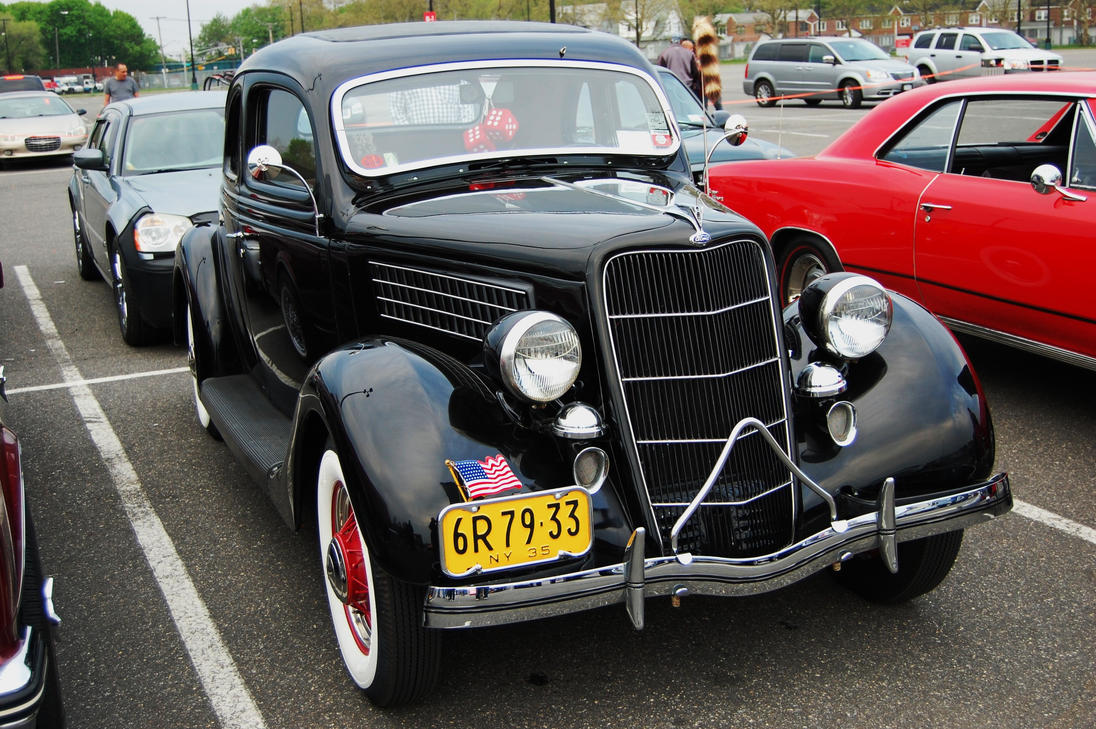 1935 ford 2 door coupe i by hardrocker78 on deviantart