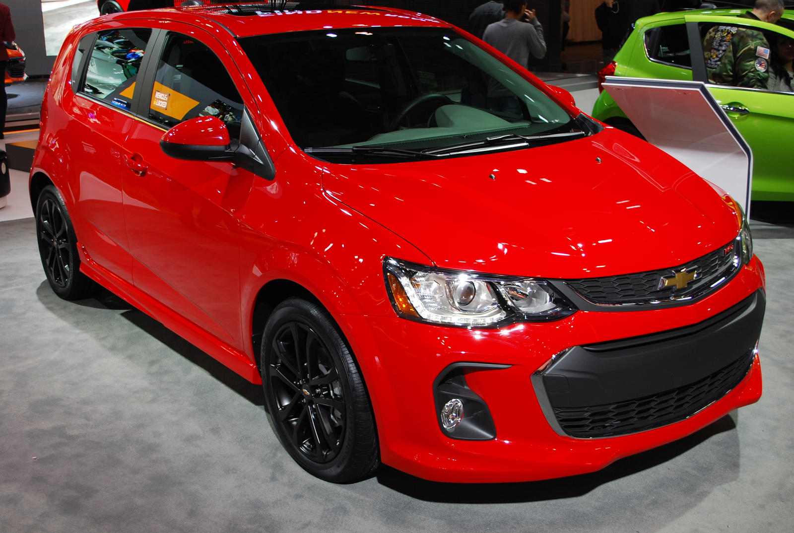 2017 CHEVROLET Sonic Hatchback RS (III) by HardRocker78 on DeviantArt