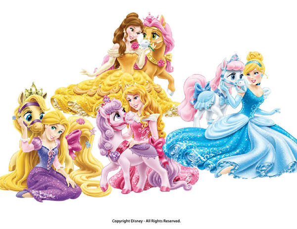 Disney Palace pets Ponies by Dulcechica19 on DeviantArt