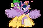 Twilight Sparkle as Belle