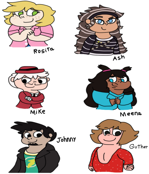 Sing Characters Humans By Dulcechica19 On Deviantart