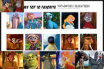 My Top 10 Non-Disney Animated Movie characters 2