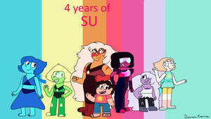 4 years of Steven Universe by Dulcechica19