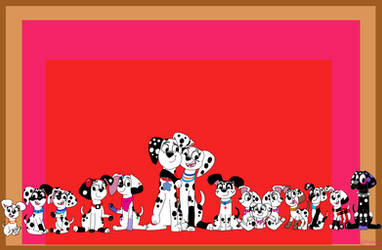 101 Dalmatian street - Group of siblings by Dulcechica19