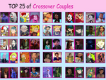 My Top 25 Crossover Couples (Daniverse) 2 by Dulcechica19