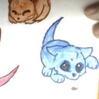 Blue Kitten by FallenAngelsForLife