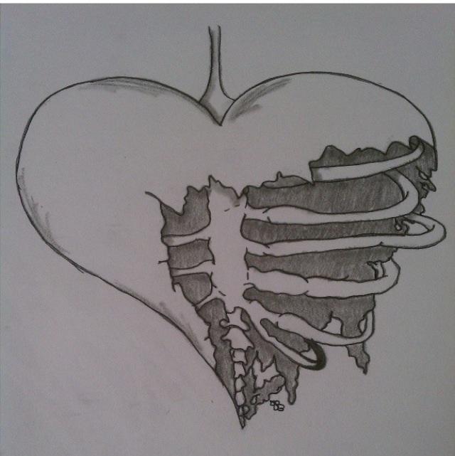Broken Heart By Fallenangelsforlife On Deviantart