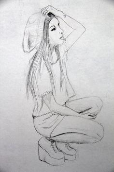 Sad Girl by FallenAngelsForLife