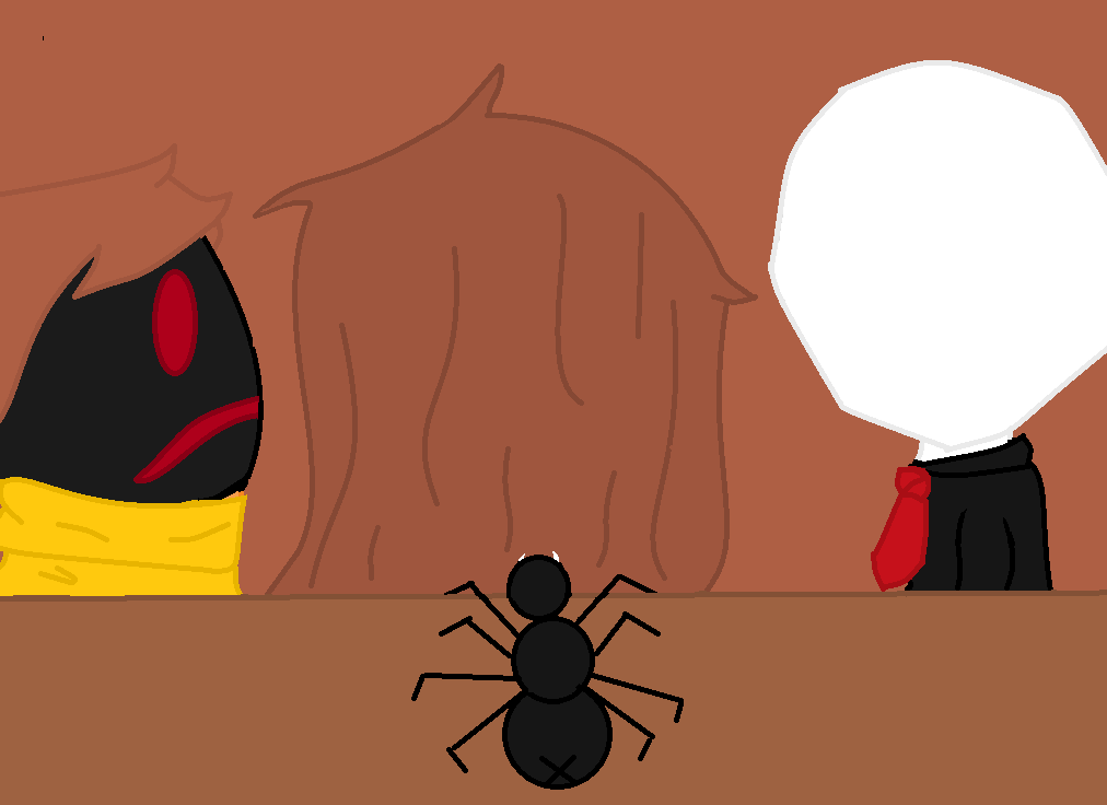 Slender,Hoodie,Cal Hanging out by GasolineDeath
