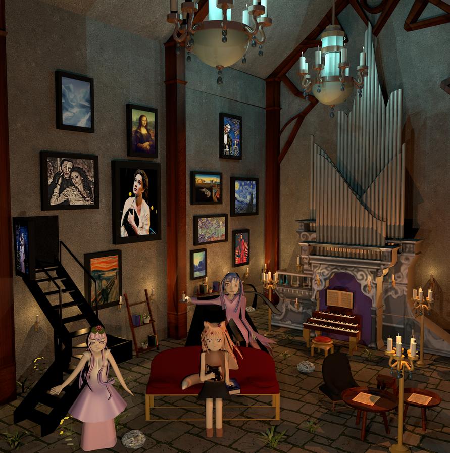 AT: Lilly/Charlotte/Reimi Phantom of the Opera by blenderenderer