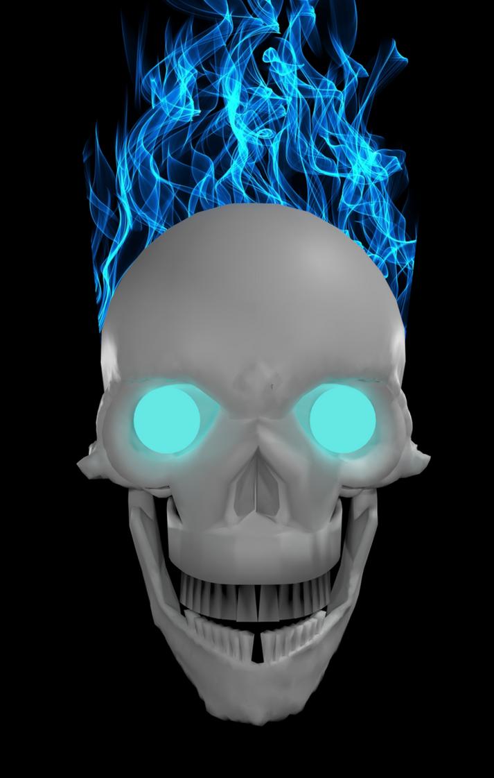 Skull by blenderenderer