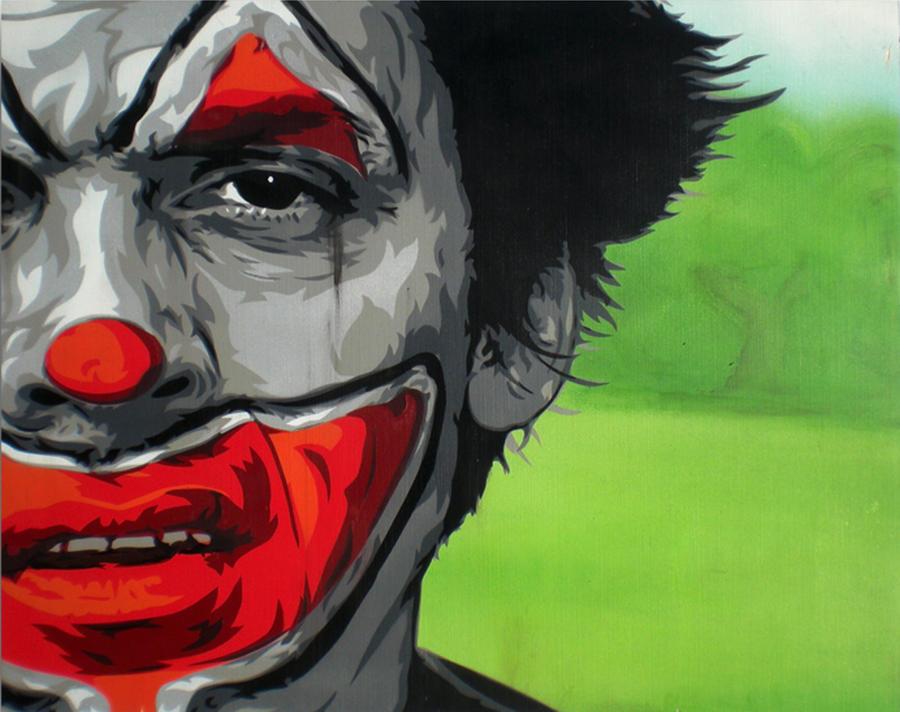 Sad Clown Bad Dub by STENZSKULL on DeviantArt