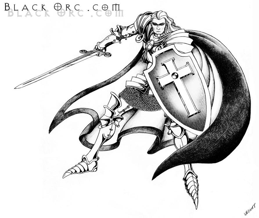 Templar Knight by JeremyWright on DeviantArt