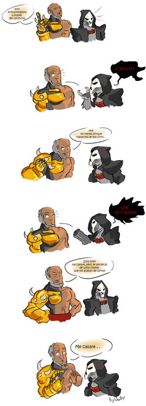 Doomfist vs Reaper