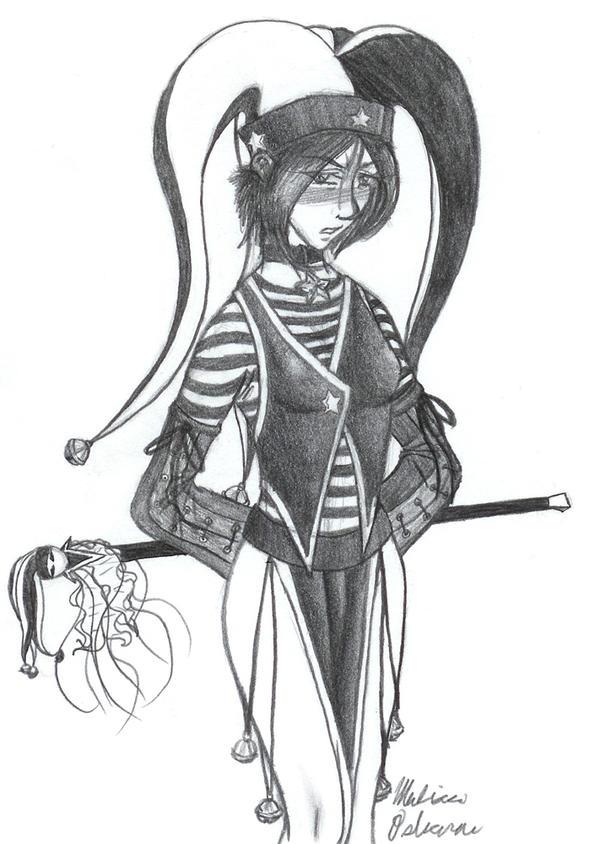 Jester Girl By Mewtaila On DeviantArt