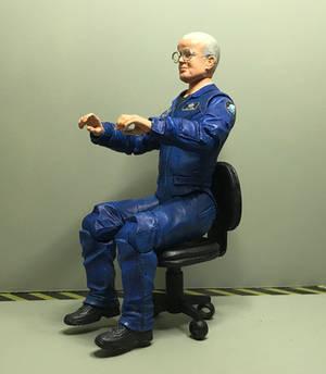 Walter Harriman Custom In-Action Figure