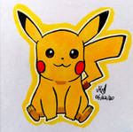 Pikachu by RandomLeopardcorn
