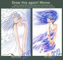 Draw This Again , again - AINOA by Odespaprikan