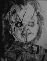 Chucky - Bride of Chucky by Kevercaser