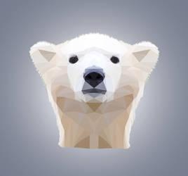 Polar Bear - Low Poly by ChiaraLily9