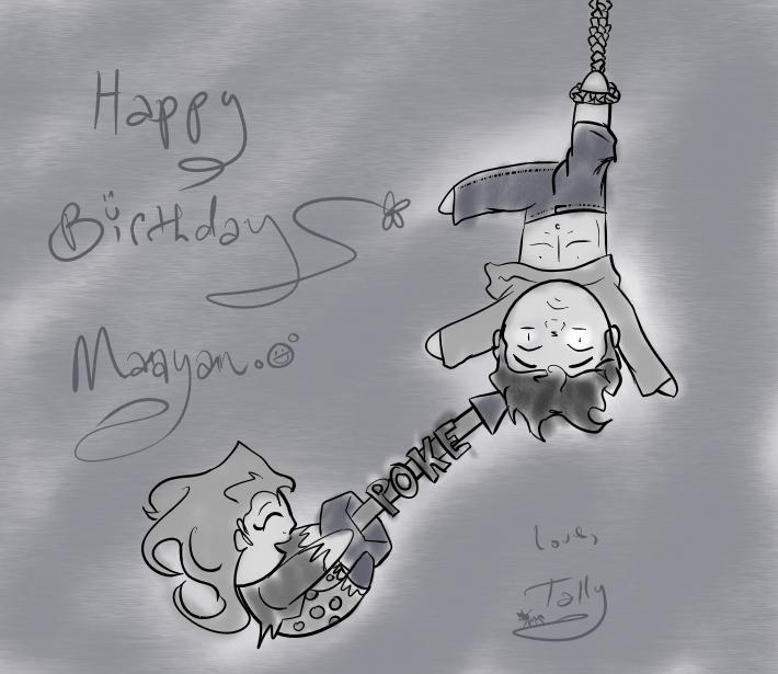 Happy Birthday Maayany by Kid-Apocalypse