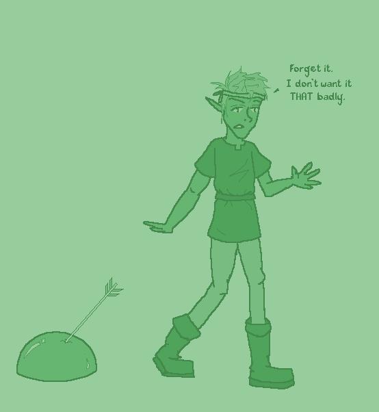 Discouraged Archer by Kid-Apocalypse